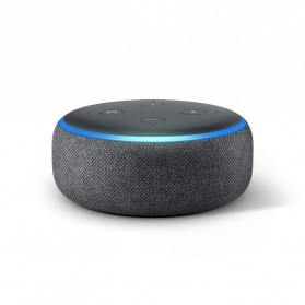 Amazon Echo Dot 3rd Generation Smart Speaker with Alexa - Black - 2