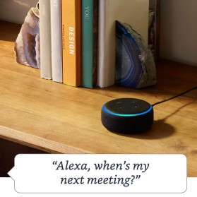 Amazon Echo Dot 3rd Generation Smart Speaker with Alexa - Black - 3