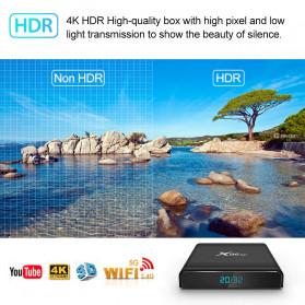 Vontar X96 Air Smart TV Box Android 9.0 4K 4/32GB - Black - 2