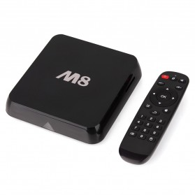 Jesurun M8 Amlogic S802 Quad Core 4K Smart TV Box Android 4.4 2GB RAM 8GB - Black