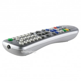Chunghop Universal Smart Remote Control Learn Function for TV DVD CBL SAT - L350 - Silver - 2