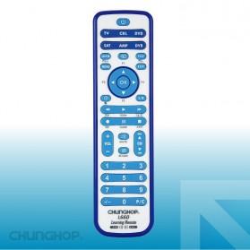 Chunghop Remot Kontrol Universal untuk TV DVD CBL SAT - L660 - White/Blue