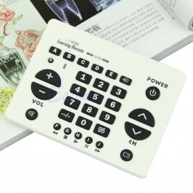 Chunghop Universal Smart Remote Control Learn Function for TV DVD CBL SAT - L199E - White