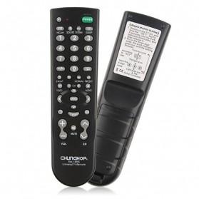CHUNGHOP Universal TV Remote Control - RM-139ES - Black