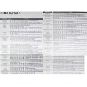 CHUNGHOP Universal TV Remote Control - RM-139ES - Black - 2