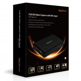 MyGica HD Cap X-II Video Capture Box - Black - 4