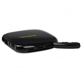 MyGica Media Player TV Set Top Box Android 7.1 4K - ATV495 Max - Black - 2