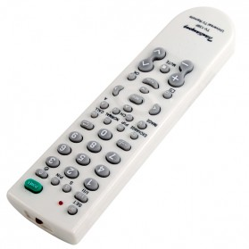 Universal TV Remote Control - TV-139F - White