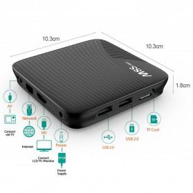 M8S Pro Smart TV Box 4K Android 7.1 Amlogic S912 2GB 16GB - Black - 2