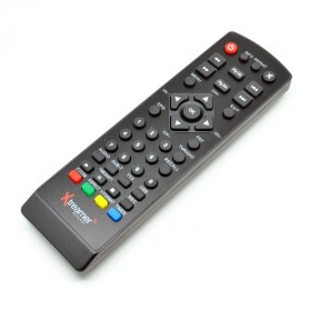 Media Player Spare Part - Remote for Xtreamer Set Top Box DVB-T2 BIEN 2 - Black