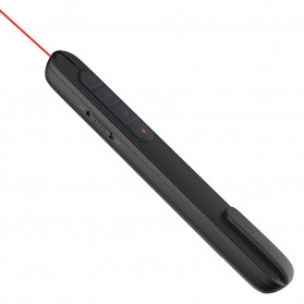 Richat Remote Laser Presenter Wireless Red Pointer 2.4Ghz - RS02 - Black