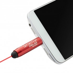 Infiniter Cellulaser Red Laser Stylus Pen Connect Smartphone - Red