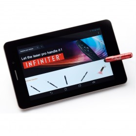 Infiniter Cellulaser Red Laser Stylus Pen Connect Smartphone - Red - 6