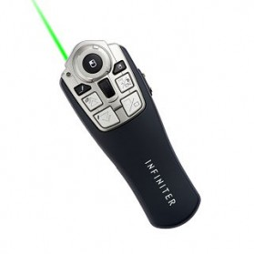 Infiniter Green Laser Presenter - LR-12GR Pro