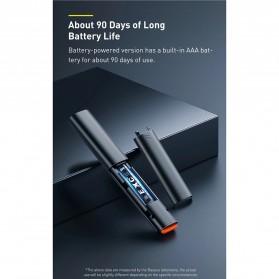 Baseus Remote Laser Presenter Wireless Pointer PPT USB Type C Red Light 2.4Ghz 30 Meter - ACFYB-B01 - Black - 10
