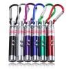 3 in 1 UV Laser Pointer Beam with Keychains - B-03 - Silver