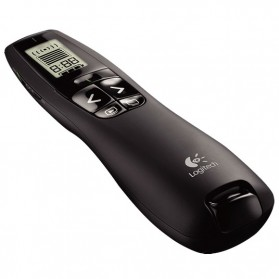 Logitech Wireless Green Laser Presenter - R800 - Black
