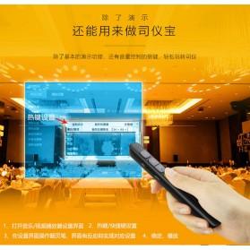KNORVAY Remote Laser Presenter Wireless Pointer Red Light 2.4Ghz - N29 - Black - 4