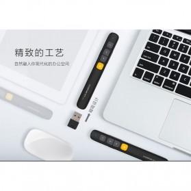 KNORVAY Remote Laser Presenter Wireless Pointer Red Light 2.4Ghz - N29 - Black - 8