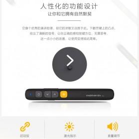 KNORVAY Remote Laser Presenter Wireless Pointer Red Light 2.4Ghz - N29 - Black - 9