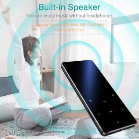 REDANT MP3 Player Digital Audio Player Bluetooth Touchscreen 8GB - X3 - Black - 2