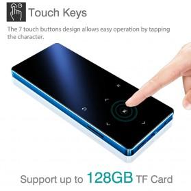 REDANT MP3 Player Digital Audio Player Bluetooth Touchscreen 8GB - X3 - Black - 5