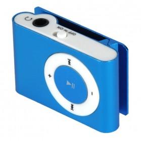 Pod MP3 Player TF card dengan Klip - KX56 - Silver - 2