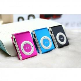 Pod MP3 Player TF card dengan Klip - KX56 - Silver - 6