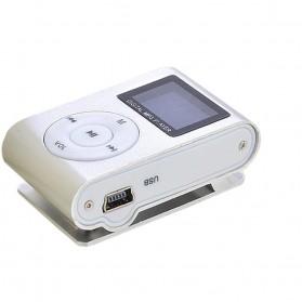 ZUCZUG Pod MP3 Player TF Card dengan Klip & LCD - ZC10 - Silver - 2