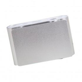 ZUCZUG Pod MP3 Player TF Card dengan Klip & LCD - ZC10 - Silver - 4