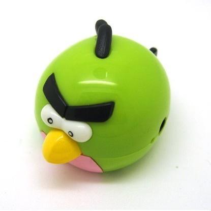 Angry Bird MP3 Player TF card - Green - JakartaNotebook.com 628fc46a84