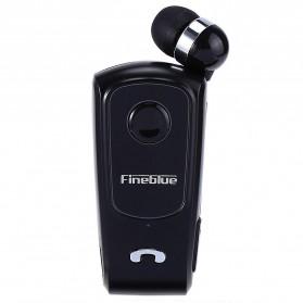 FineBlue Stereo Single Bluetooth Headset Handsfree - F920 - Black