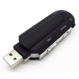 ICEICE USB MP3 Player LCD Display FM Radio TF Slot - DZ3176-01 - Black - 4