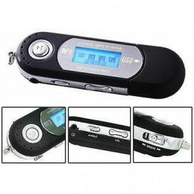 ICEICE USB MP3 Player LCD Display FM Radio TF Slot - DZ3176-01 - Black - 6