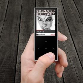 Benjie X1 MP3 Digital Audio Player LCD 8GB - Black - 3
