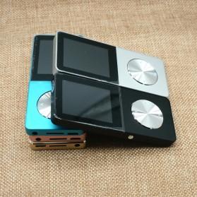 Metal HiFi DAP MP3 Player LCD E-Book FM Radio Clock 8GB - Black - 2