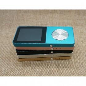 Metal HiFi DAP MP3 Player LCD E-Book FM Radio Clock 8GB - Black - 3