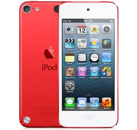 apple ipod touch 5th generation a1421 64gb red. Black Bedroom Furniture Sets. Home Design Ideas