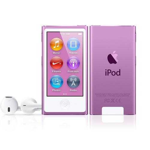 Apple iPod Nano (A1446) - 16GB - Purple - JakartaNotebook.com