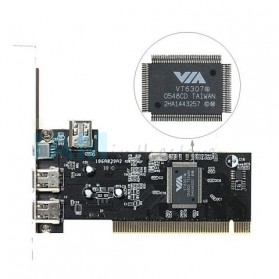 PCI Express to 4 FireWire IEEE 1394a PCI Card - VA602