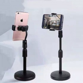 Stand Holder Bracket Smartphone - H120-B - Black - 4