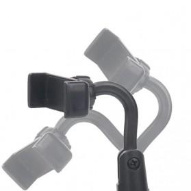 Stand Holder Bracket Smartphone - H120-B - Black - 5