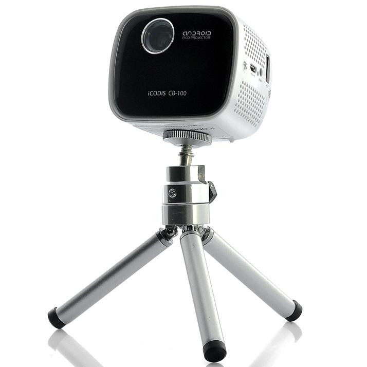 Icodis cb 100 dlp portable projector dual core cpu for Dlp portable projector