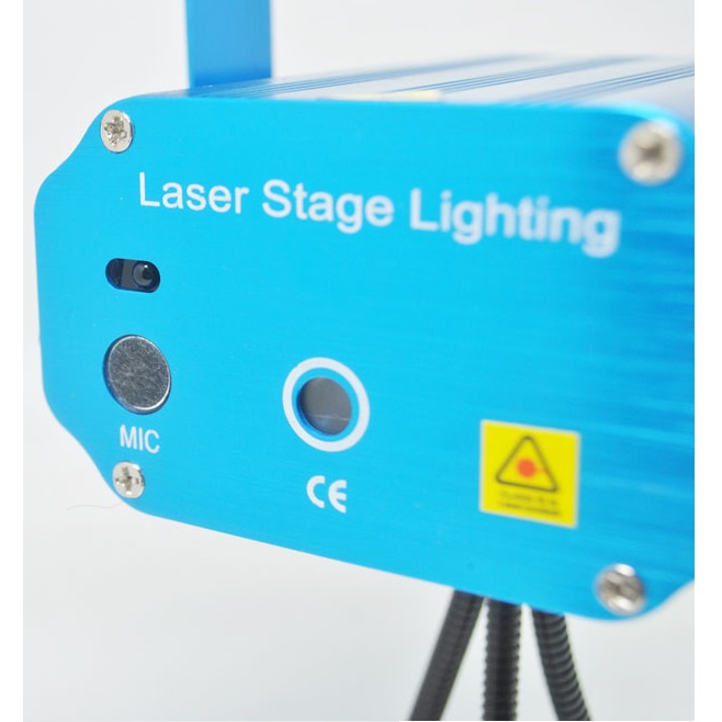 Mini Laser Stage Light Multicolor Projector Star Pattern