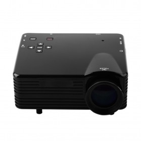 Mini Projector LED 400lm with Analog TV Receiver Support 320p - VS320+ - Black - 3