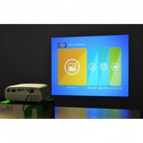 Mini Portable Projector LED 100 Lumens 480 x 320 Pixel  - GP802A - Black - 5