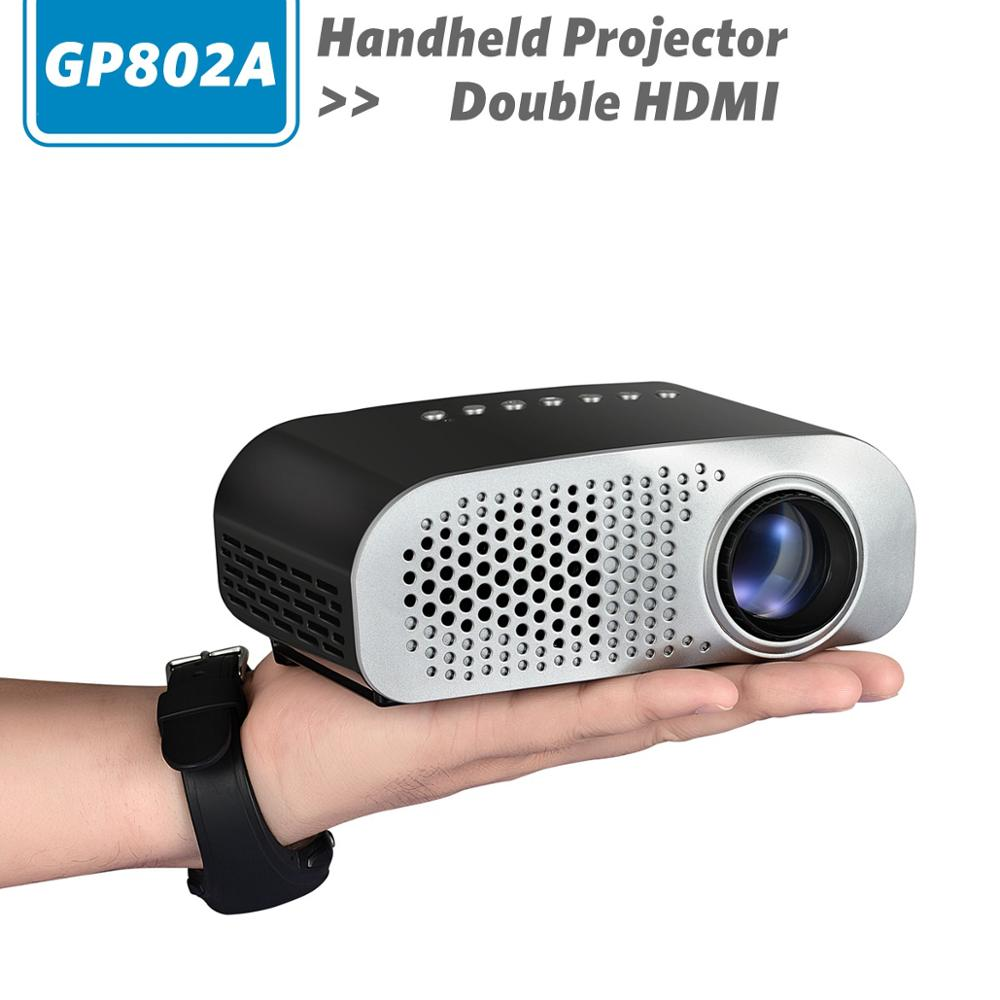 Mini portable projector led 100 lumens 480 x 320 pixel for Mini portable pocket projector