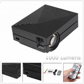 Proyektor Mini LCD 800 x 480 Pixel 1000 Lumens - GM60 - Black - 2