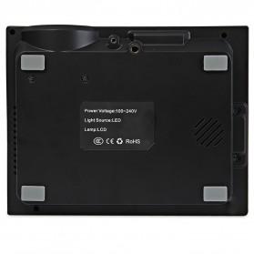 Proyektor Mini LCD 800 x 480 Pixel 1000 Lumens - GM60 - Black - 5