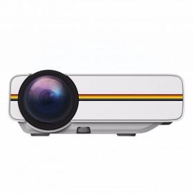 Proyektor Mini LCD 800 x 480 Pixel 1200 Lumens - YG400 - White - 2